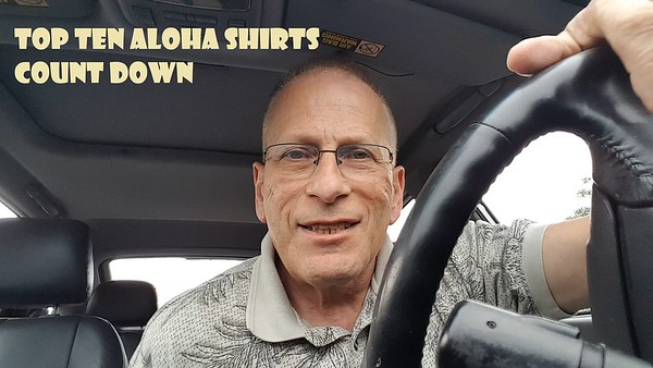 Top Ten Aloha Shirt Count Down