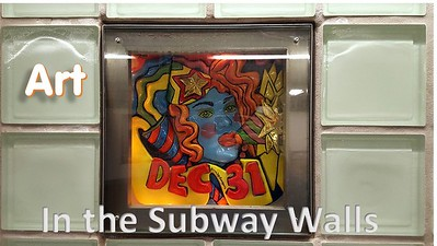 """Art """"in"""" the Subway Walls"""