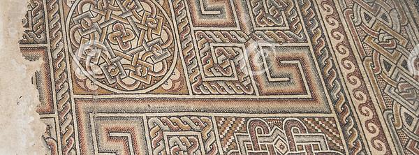 Original Mosaic Floor at the Church of the Nativity in Bethlehem