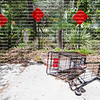 Lost or stolen grocery cart