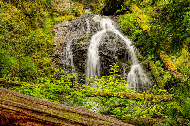 Water Falls, Moran State Park, Orcas Island, WA