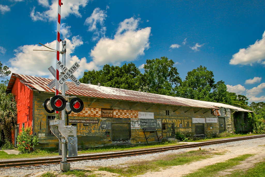 Railroad Building, Perry Florida