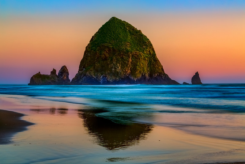 Haystack Rock, Cannon Beach, Orgegon