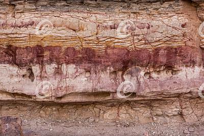 The Bleeding Rocks of Makhtesh Ramon in Israel