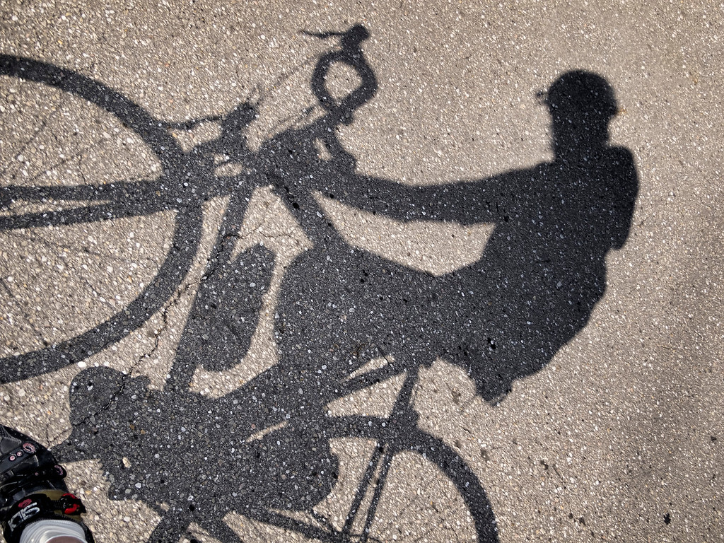 Selfie On Bicycle
