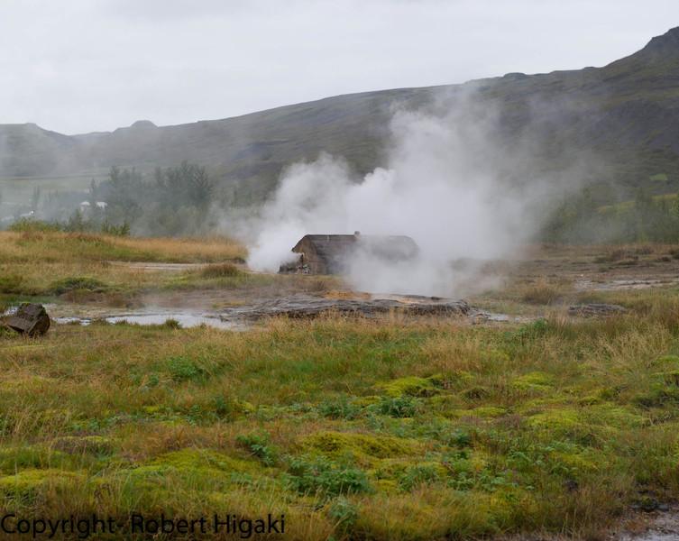 Iceland: Geyser- Icelanders pronounce it Geezer