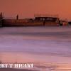 cement ship(palo alto) shot at sunset; Seacliff State beach, Aptos CA