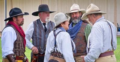 Re-enactors, National Cowboy Symposium, Lubbock TX, 2018.