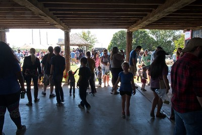 The Apple Butter Festival at a local orchard, 2017. The Cowboy Symposium was held on the same weekend, at its attendance is declining. Attendance at the Apple Butter Festival is increasing.