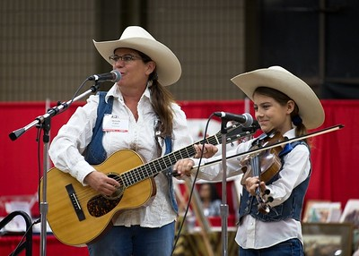 New Mexico musicians who performed at the 2017 Cowboy Symposium in Lubbock.