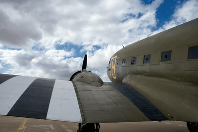 70th Anniversary of D-Day at the Silent Wings Museum, 2014. The Southern Cross, a WWII C47.