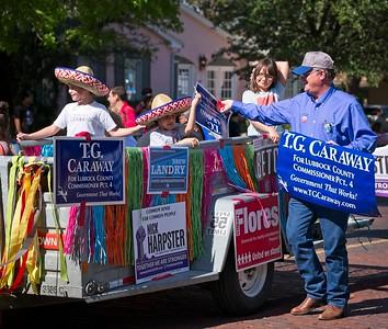 Just a politician. Cinco de Mayo parade, Lubbock, Texas 2018.