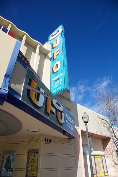 International UFO Museum and Research Center, Roswell, New Mexico 2012.