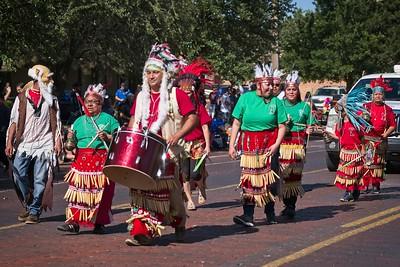 Cinco de Mayo parade, Lubbock, Texas 2018.