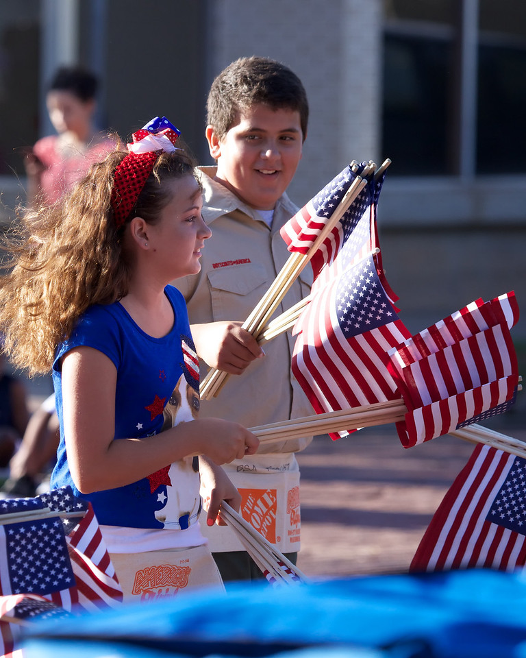 Fourth of July Parade, Lubbock, Texas 2013.