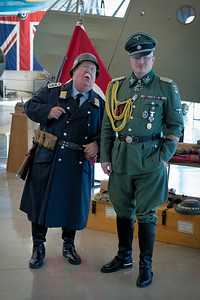 A group of WWII Germans came again this year from Abilene. This time one was dressed as Sgt. Shultz from Hogan's Heroes.