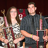 The Charles Martin Memorial Sportsmanship Awards were given to Sarah Simmons and Phil Humphries.