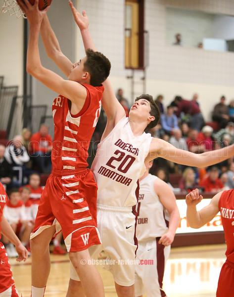 Odessa-Montour Boys  Basketball 1-8-16.