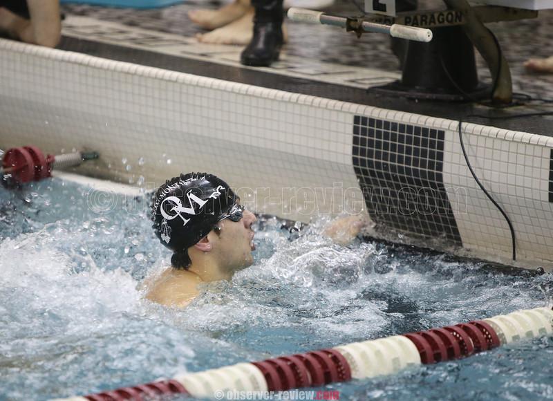 Odessa-Montour Boys Swimming 12-10-15.