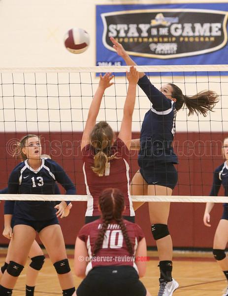 Odessa-Montour / Watkins Glen Volleyball 9-15-16.