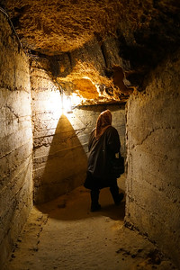 Following down catacombs