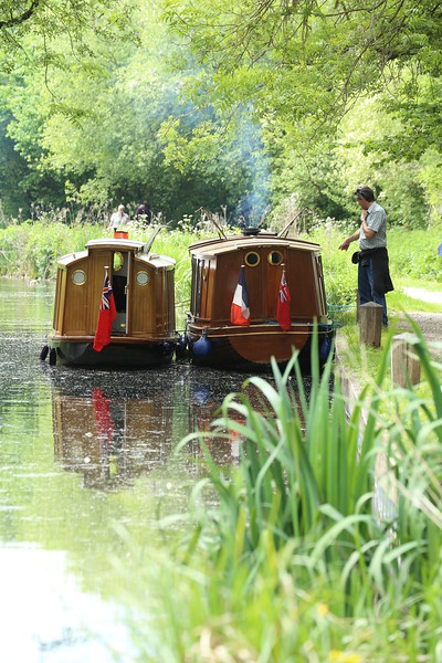 Canal boats, Basingstoke Canal