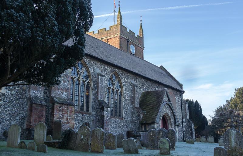 All Saints, the parish church in The Bury, Odiham
