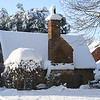 The Pest House, Odiham in snow