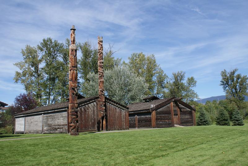 Ksan, New Hazelton, Columbia Britanica