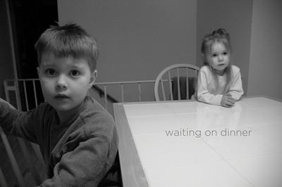 Waiting On Dinner