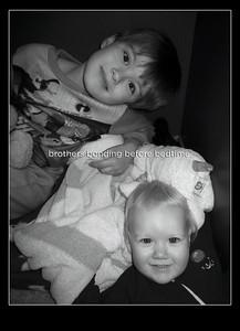 Brothers Bonding Before Bedtime