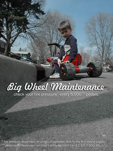 Big Wheel Maintenance