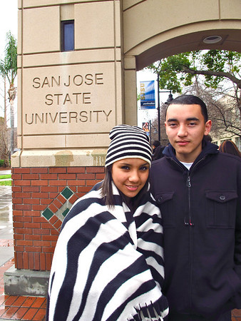 Juniors' San Jose State Visit