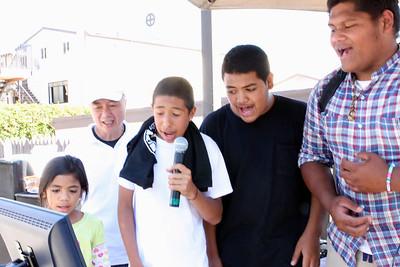 Karaoke at Pacific Islander Health Fair-9/17/2011