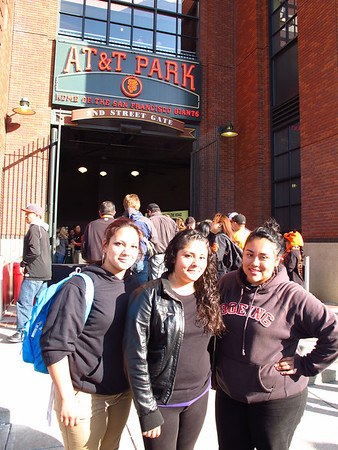SF Giants game, courtesy of the Jefferson Awards-Students in Action