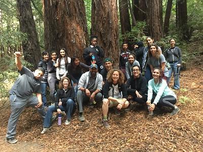 Staff and Student Hike