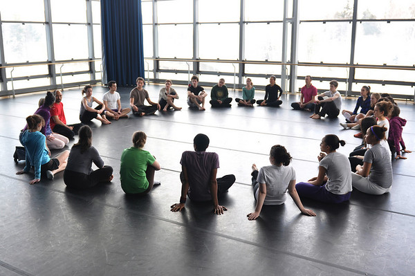 Pilobolus Workshop spring 2009