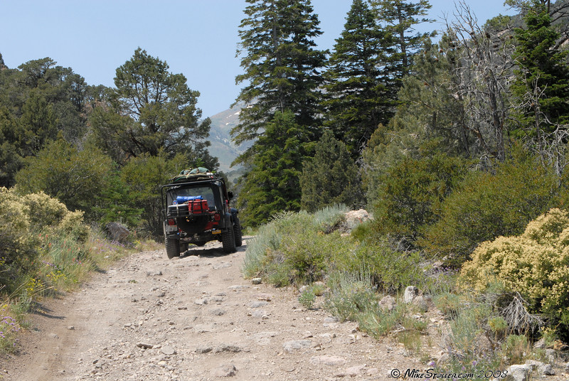 Sweetwater Canyon trail