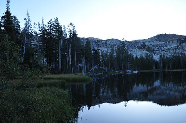 GV4W Barrett Lake Trip - September 2009