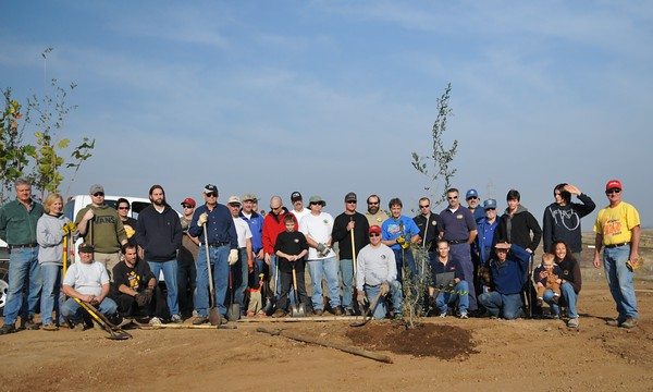 Prairie City SVRA Tree Planting - November 22, 2008
