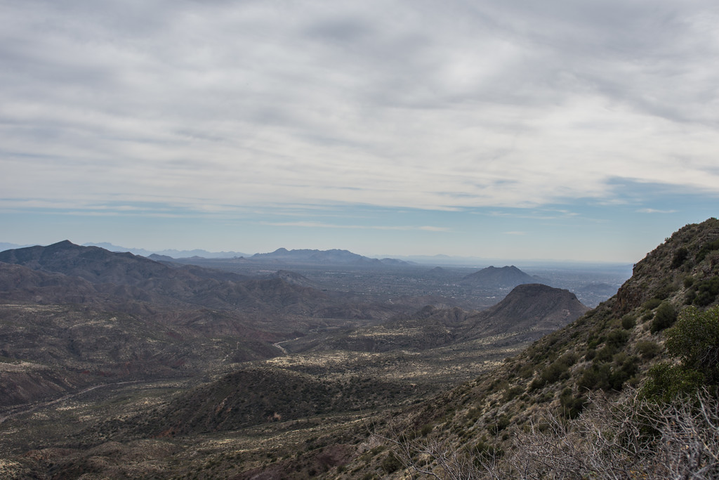 Carefree/Cave Creek overview from Big Tank
