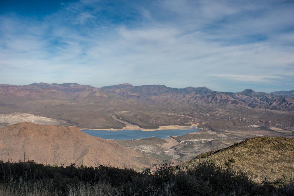Horseshoe Lake from Humboldt Mountain