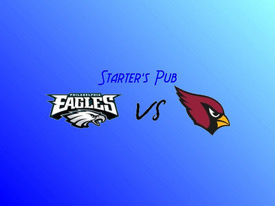 Eagles vs Cardinals Playoff Game at Starter's Pub