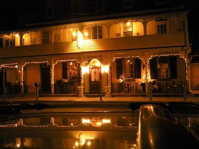 Magnolia's Vineyard is a classically rustic inn.