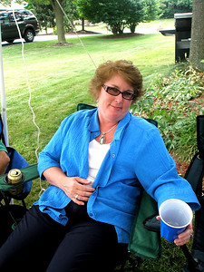Linda isn't sick yet, but if she has to drink anymore Upper Macungie water she might be.
