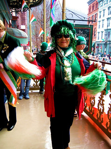 Yung Cha (pronounced Young Chow) was imported by the great city of Jim Thorpe to represent the Korean Irish contingent.