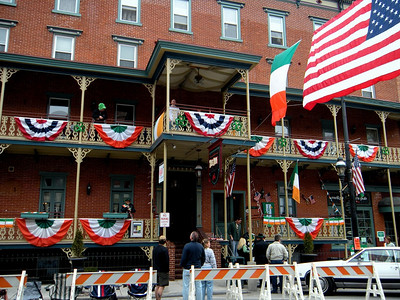 Saint Patty's Parade in Jim Thorpe 2009