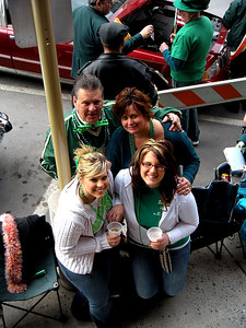 Gina, Bill, Cara and Kayla.  Sounds almost poetic doncha think?