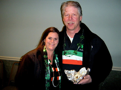 Lisa and Tim, Jim Thorpe Saint Patty day regulars were hanging out all weekend.