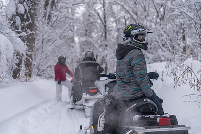 Off-highway vehicle (OHV) - snowmobile
